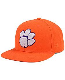Top of the World Clemson Tigers Extra Logo Snapback Cap
