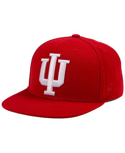Top of the World Indiana Hoosiers Extra Logo Snapback Cap