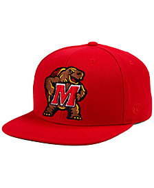 Top of the World Maryland Terrapins Extra Logo Snapback Cap