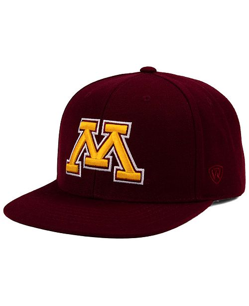 low priced 5bd12 b8d00 Top of the World Minnesota Golden Gophers Extra Logo Snapback Cap ...