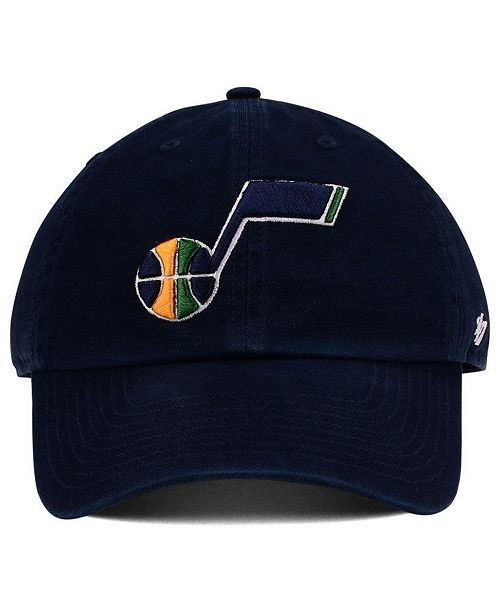 ac97ce8157018 ... canada 47 brand boys utah jazz clean up cap sports fan shop by lids men  macys