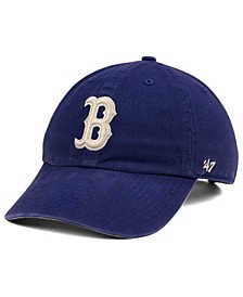 Boston Red Sox Timber Blue CLEAN UP Cap