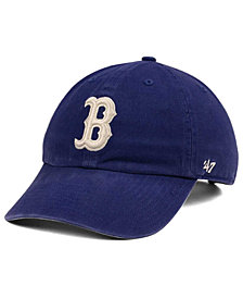 '47 Brand Boston Red Sox Timber Blue CLEAN UP Cap
