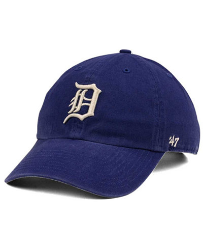 '47 Brand Detroit Tigers Timber Blue CLEAN UP Cap