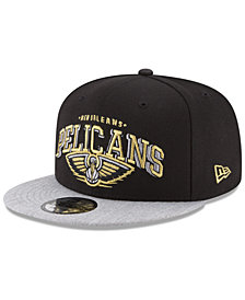 New Era New Orleans Pelicans Gold Mark 9FIFTY Snapback Cap