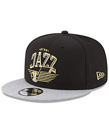 New Era Utah Jazz Gold Mark 9FIFTY Snapback Cap