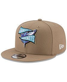 New Era Charlotte Hornets Team Banner 9FIFTY Snapback Cap