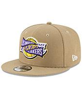 New Era Los Angeles Lakers Team Banner 9FIFTY Snapback Cap d9902d822