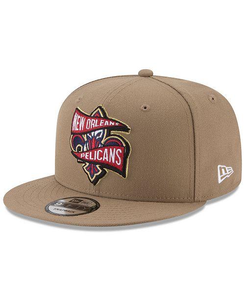 best website c96ba a5cf3 ... New Era New Orleans Pelicans Team Banner 9FIFTY Snapback Cap ...