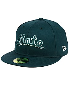Michigan State Spartans Vault 59FIFTY Fitted Cap