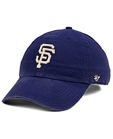 San Francisco Giants Timber Blue CLEAN UP Cap