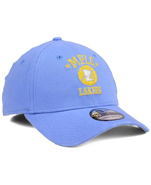 4316bf1b2c4 New Era Los Angeles Lakers Hardwood Classic Nights Six 39THIRTY Cap ...