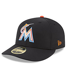 New Era Miami Marlins Low Profile Batting Practice Pro Lite 59FIFTY Fitted Cap