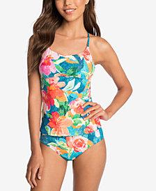 Vera Bradley Abby Cross-Back Tankini Top & Shannon Hipster Bikini Bottoms