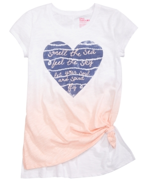 Epic Threads Heart GraphicPrint TShirt Big Girls Created for Macys
