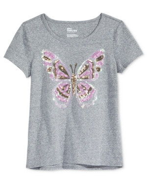 Epic Threads Sequin Butterfly TShirt Big Girls (716) Created for Macys