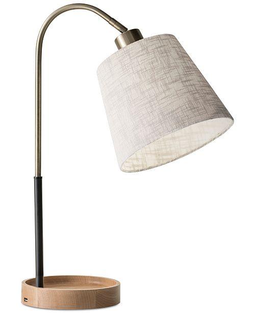 Adesso Jeffrey Desk Lamp with USB Port