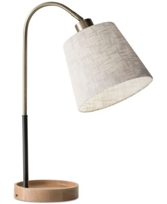 Product Details. Form Beautifully Follows Function In The Jeffrey Desk Lamp  With USB ...