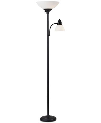 Adesso Glenn Combo Floor Lamp