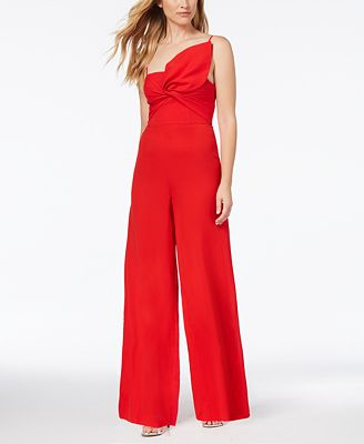 Fame And Partners Bow Wide Leg Jumpsuit Dresses Petites Macys