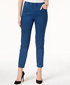 Karen Scott Petite Pull-On Jeans, Created for Macy's