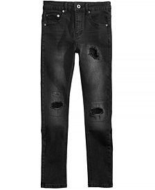 Sean John Washed Denim Destructed Jeans, Big Boys