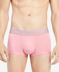 Calvin Klein Men's Customized Stretch Low-Rise Trunks