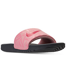Nike Big Girls' Kawa Print Slide Sandals from Finish Line