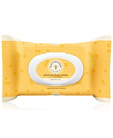 Baby Bee Wipes - Fragrance Free, 72 count