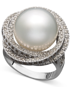 14k White Gold Ring,...
