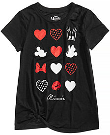 Disney's® Minnie Mouse Hearts & Dots T-Shirt, Big Girls