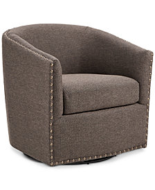 Arman Swivel Chair, Quick Ship