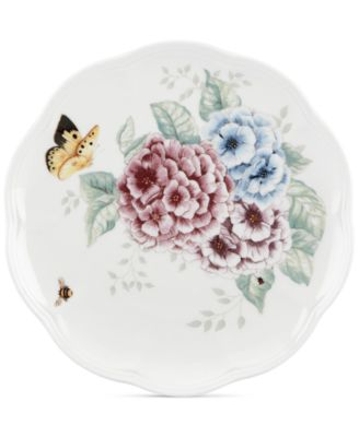 Lenox Butterfly Meadow Hydrangea Accent Plate  sc 1 st  Macyu0027s & Lenox Butterfly Meadow Hydrangea Accent Plate - Dinnerware - Dining ...