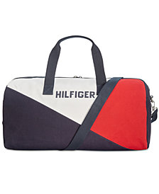 Tommy Hilfiger Men's Logo Duffel Bag
