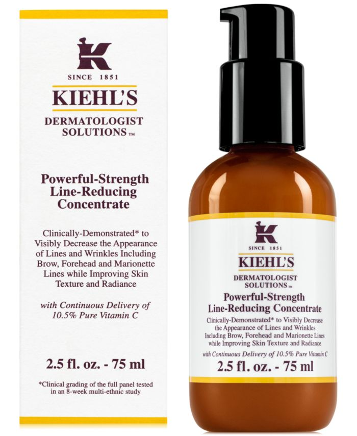 Kiehl's Since 1851 Dermatologist Solutions Powerful-Strength Line-Reducing Concentrate, 2.5 fl. oz. & Reviews - Skin Care - Beauty - Macy's