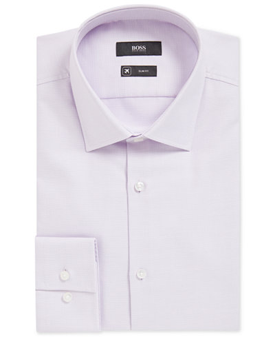 BOSS Men's Traveler Slim-Fit Dress Shirt
