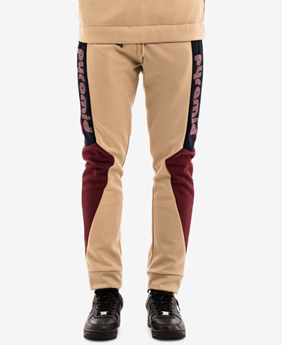 Black Pyramid Men's Colorblocked Jogger Pants