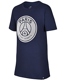 Nike Paris Saint-Germain Crest T-Shirt, Big Boys