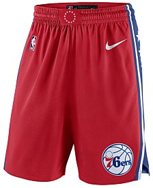 Nike Men's Philadelphia 76ers Statement Swingman Shorts