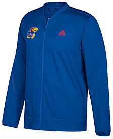 adidas Men's Kansas Jayhawks Basketball Warm Up Jacket