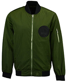 JH Design Men's Boston Celtics Bomber Jacket