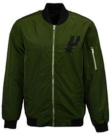 JH Design Men's San Antonio Spurs Bomber Jacket