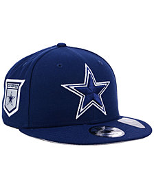 New Era Dallas Cowboys Anniversary Patch 9FIFTY Snapback Cap