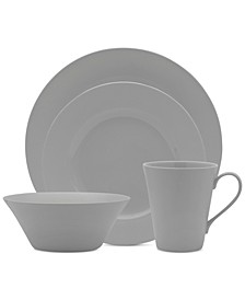 Delray Grey 16-Pc. Set, Service for 4