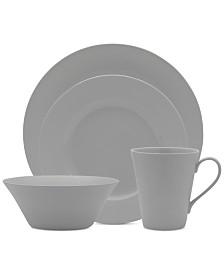 Mikasa Delray Grey 16-Pc. Set, Service for 4