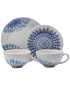 Mikasa Daniela Blue 4-Pc. Place Setting