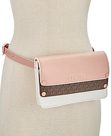 MICHAEL Michael Kors Double-Flap Belt Bag