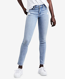 Levi's® 711 Embroidered Skinny Jeans