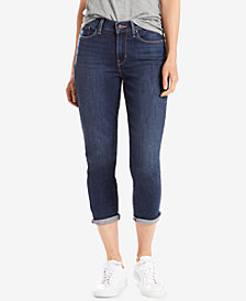 Levi's® Cropped Skinny Jeans