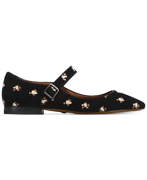 COACH Maryjane Suede Flats   Reviews - Flats - Shoes - Macy s